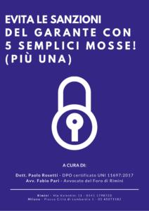 Guida privacy GDPR per aziende a San Marino