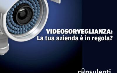 Videosorveglianza e privacy, le telecamere della tua azienda sono in regola? Come mettersi al riparo