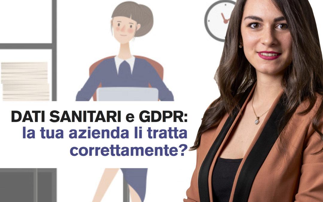 I dati sanitari sono trattati in maniera specifica dal GDPR