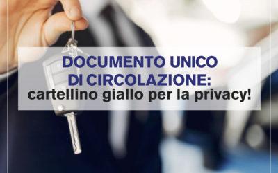 Documento unico di circolazione, cartellino giallo per il Governo: che ne è della privacy degli italiani?