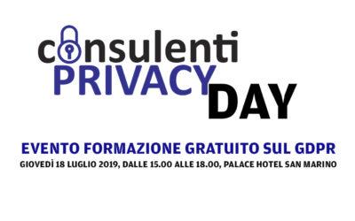 Consulenti Privacy Day: l'evento di formazione gratuito dedicato a professionisti ed imprese.