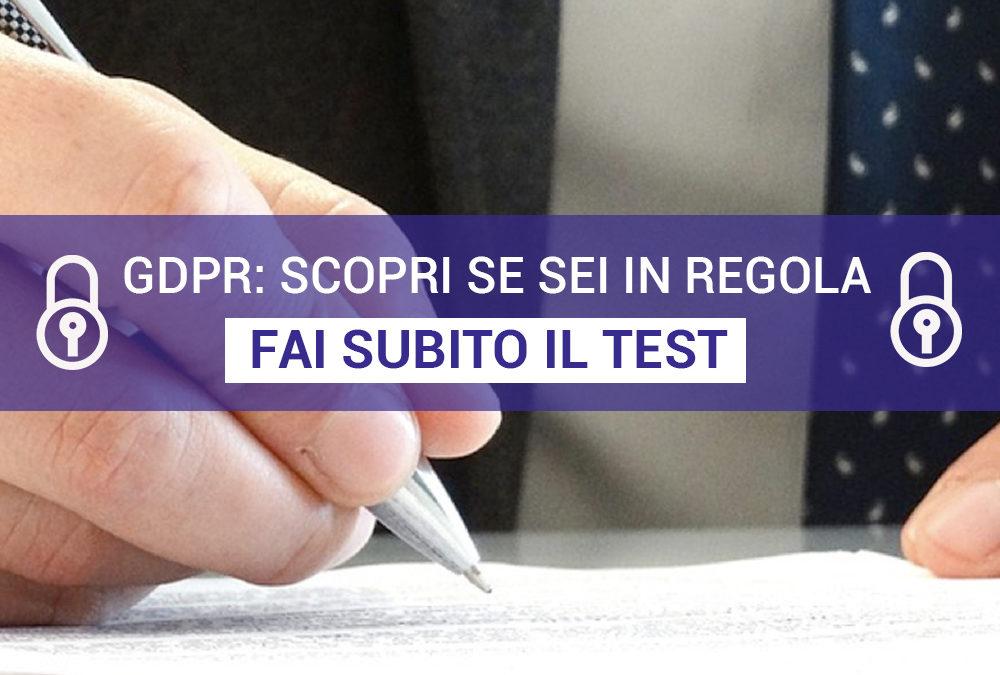 GDPR: verifica se sei in regola - Consulenti privacy