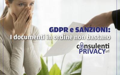 """Privacy: prime sanzioni alle imprese italiane, non basta avere i documenti """"in ordine"""""""