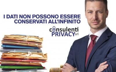 Le aziende italiane conservano i dati all'infinito: ecco come ci si espone alla violazione del GDPR