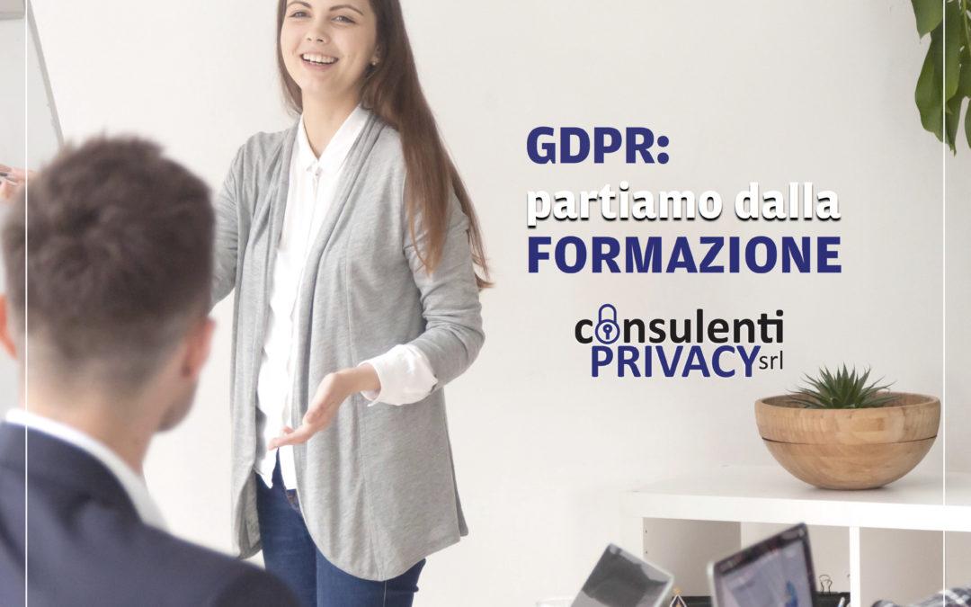 Formazione sul GDPR - Consulenti Privacy