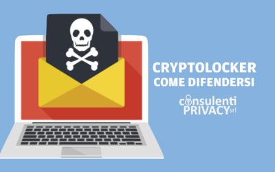 CryptoLocker: pillole di cyber sicurezza