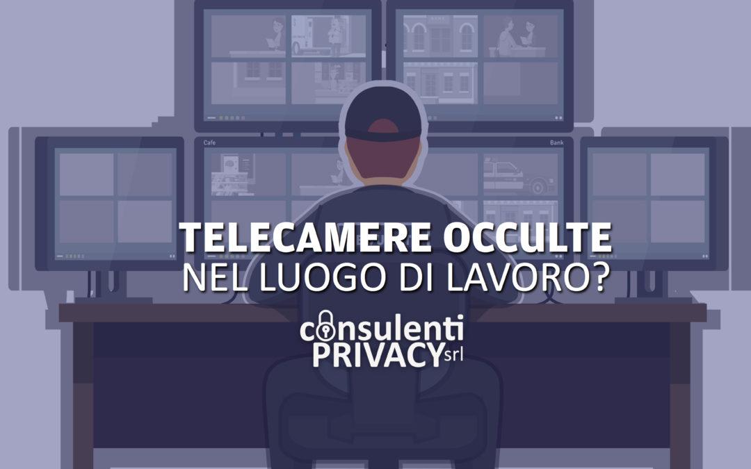 Privacy telecamere in azienda - Consulenti Privacy
