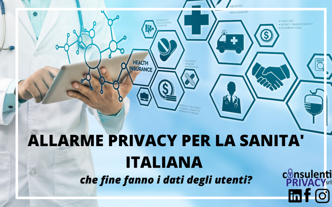 Sanità italiana: solo il 20% delle strutture tutela la privacy degli utenti