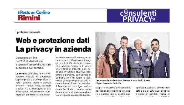 Privacy policy per aziende - Consulenti Privacy