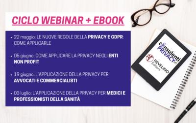 Ciclo di webinar + ebook in collaborazione con Revelino Editore