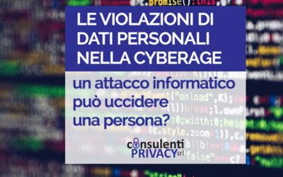 Un attacco informatico può uccidere una persona?