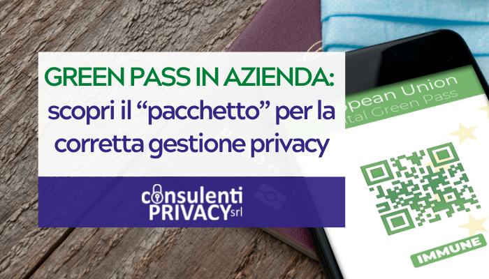 Privacy green pass in azienda - consulenti privacy