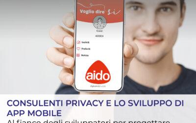 Consulenti Privacy partner di AIDO nello sviluppo della prima app mobile per il consenso alla donazione